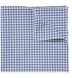 Slate Peached Gingham Pocket Square Product Thumbnail 1