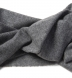Zoom Thumb Image 2 of Grey Italian Cashmere Scarf