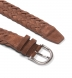 Brown Suede Braided Belt Product Thumbnail 2