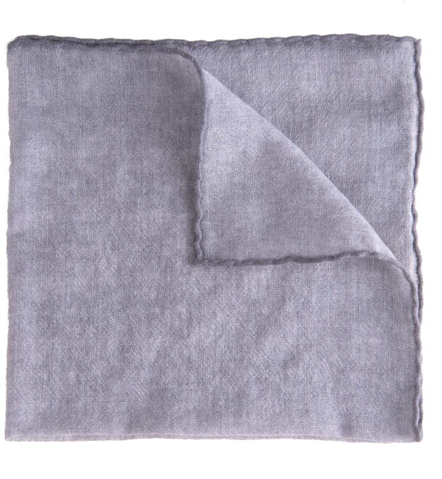 Stone Wool Pocket Square