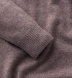 Beige Cashmere V-Neck Sweater Product Thumbnail 3