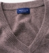 Beige Cashmere V-Neck Sweater Product Thumbnail 2