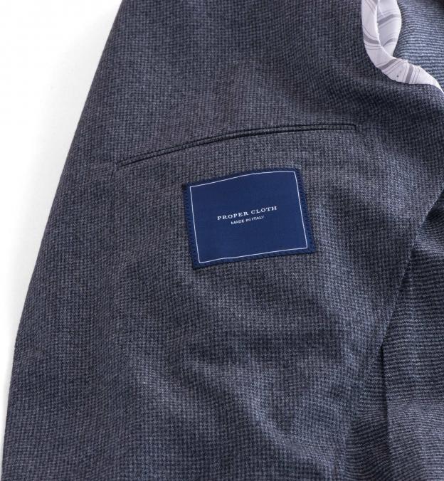 Grey Houndstooth Genova Jacket