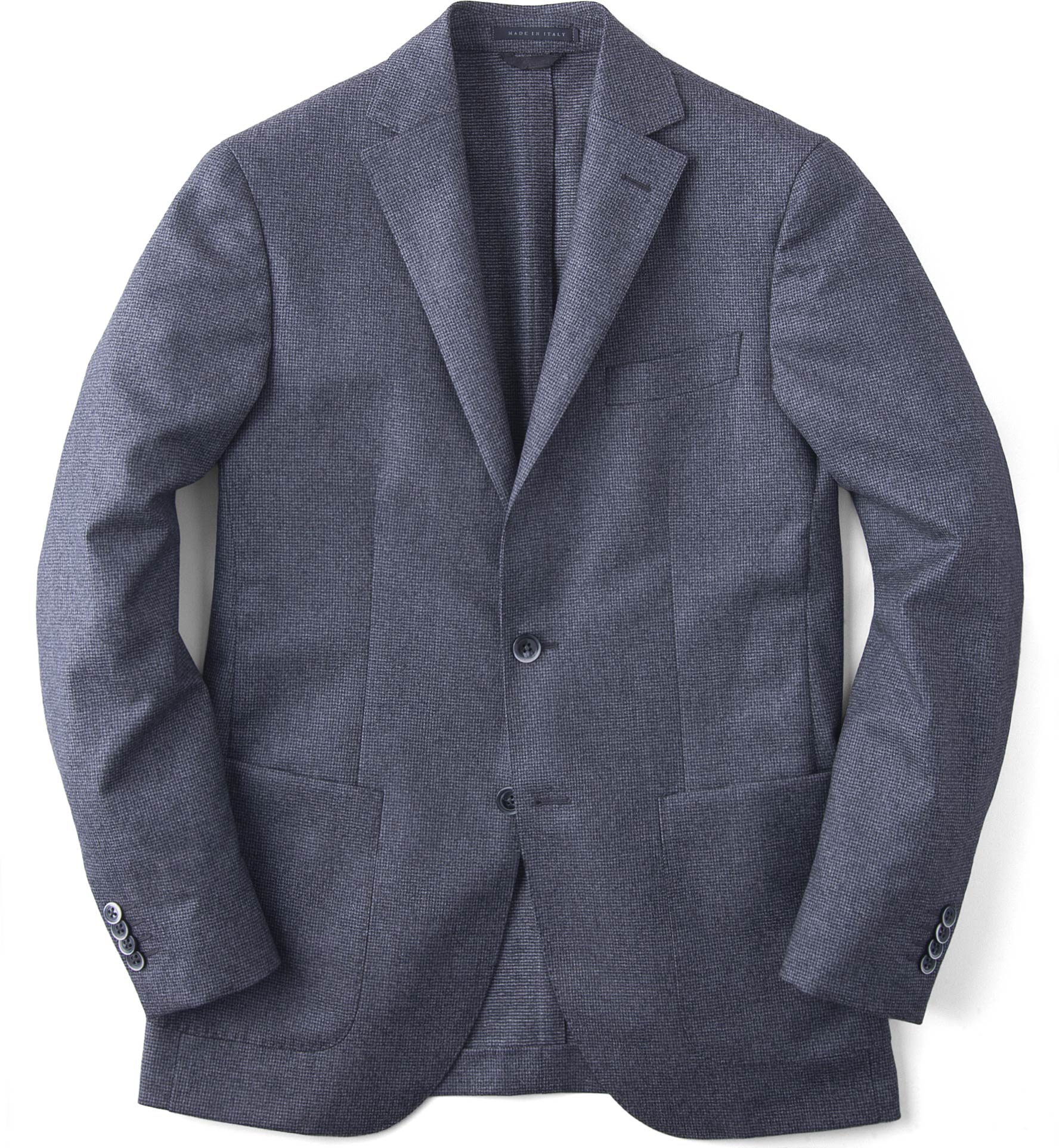 Zoom Image of Grey Houndstooth Genova Jacket
