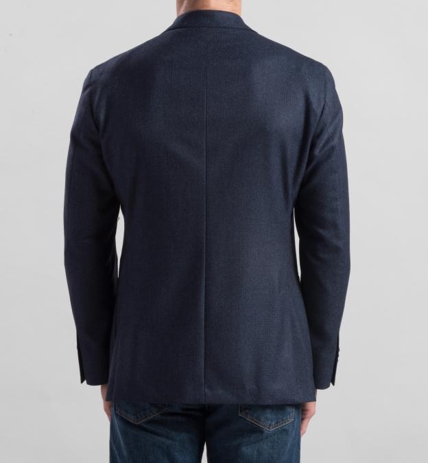 Blue Houndstooth Genova Jacket