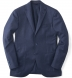 Blue Houndstooth Genova Jacket Product Thumbnail 1