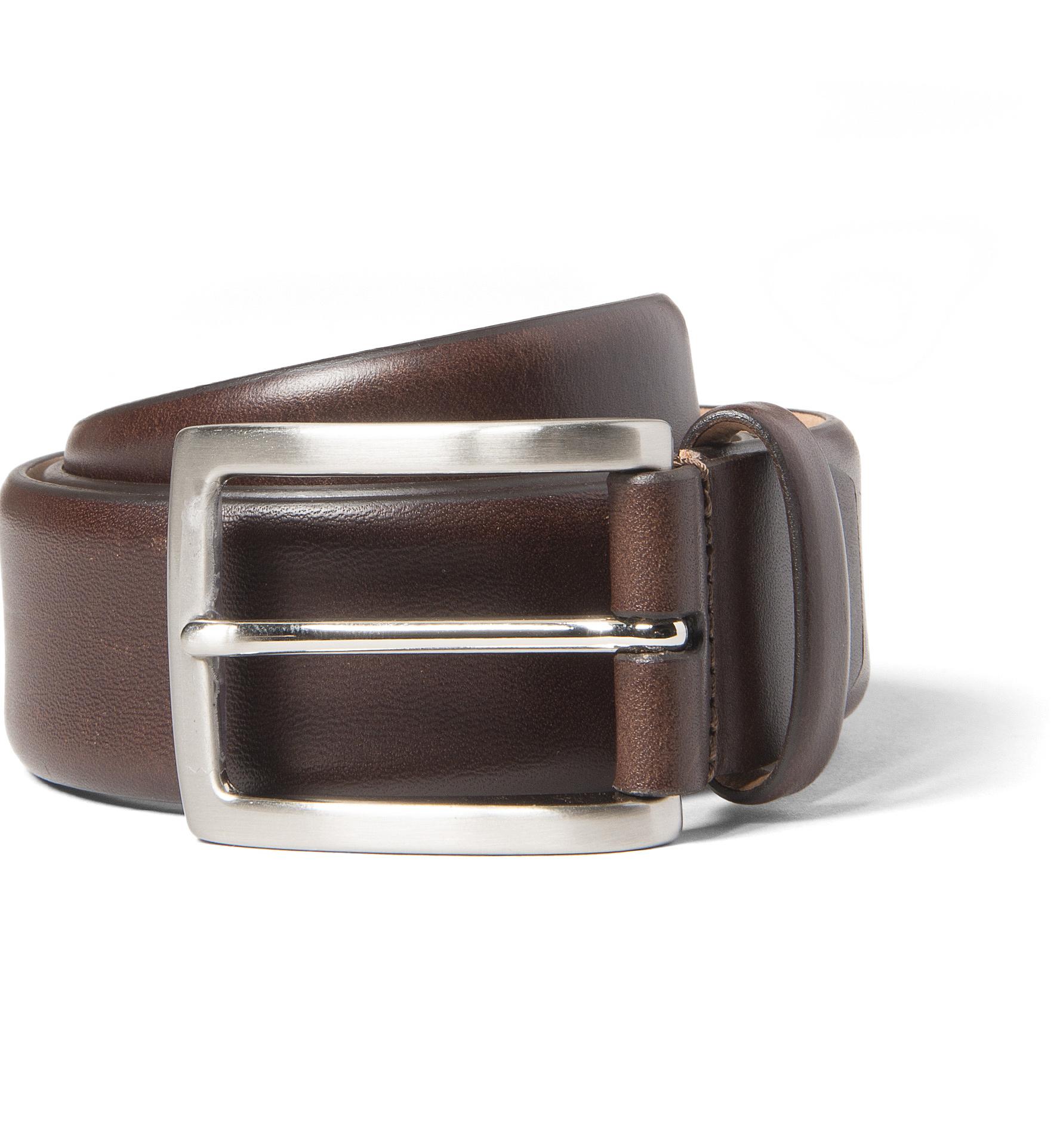 Zoom Image of Walnut Vachetta Leather Belt