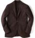 Chocolate Summer Basketweave Genova Jacket Product Thumbnail 1
