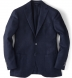 Navy Basketweave Genova Jacket Product Thumbnail 1