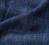 Navy Windowpane Slub Genova Jacket Product Thumbnail 5