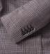 Beige Glen Plaid Slub Genova Jacket Product Thumbnail 2