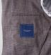 Beige Glen Plaid Slub Genova Jacket Product Thumbnail 4