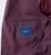 Burgundy Slub Genova Jacket Product Thumbnail 4
