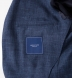 Navy Slub Genova Jacket Product Thumbnail 4