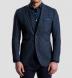 Navy Slub Genova Jacket Product Thumbnail 6