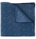 Navy Cotton Linen Pocket Square Product Thumbnail 1