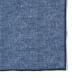 Navy Cotton Linen Pocket Square Product Thumbnail 2