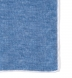 Ocean Blue and White Cotton Linen Pocket Square Product Thumbnail 2