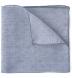 Grey Cotton Linen Pocket Square Product Thumbnail 1