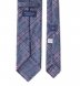 Grey and Scarlet Wool Plaid Tie Product Thumbnail 4