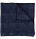 Zoom Thumb Image 4 of Navy Glen Plaid Wool Pocket Square