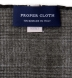 Forest Glen Plaid Wool Pocket Square Product Thumbnail 4