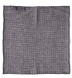 Zoom Thumb Image 2 of Grey Cashmere Micro Check Pocket Square