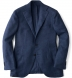 Zoom Thumb Image 6 of Ocean Wool Cashmere Basketweave Hudson Jacket