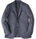 Grey Wool Cashmere Herringbone Hudson Jacket Product Thumbnail 1