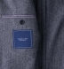 Grey Wool Cashmere Herringbone Hudson Jacket Product Thumbnail 4
