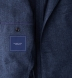 Zoom Thumb Image 2 of Slate Wool Cashmere Herringbone Hudson Jacket