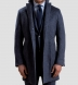 Brera Slate Blue Wool Overcoat Product Thumbnail 2