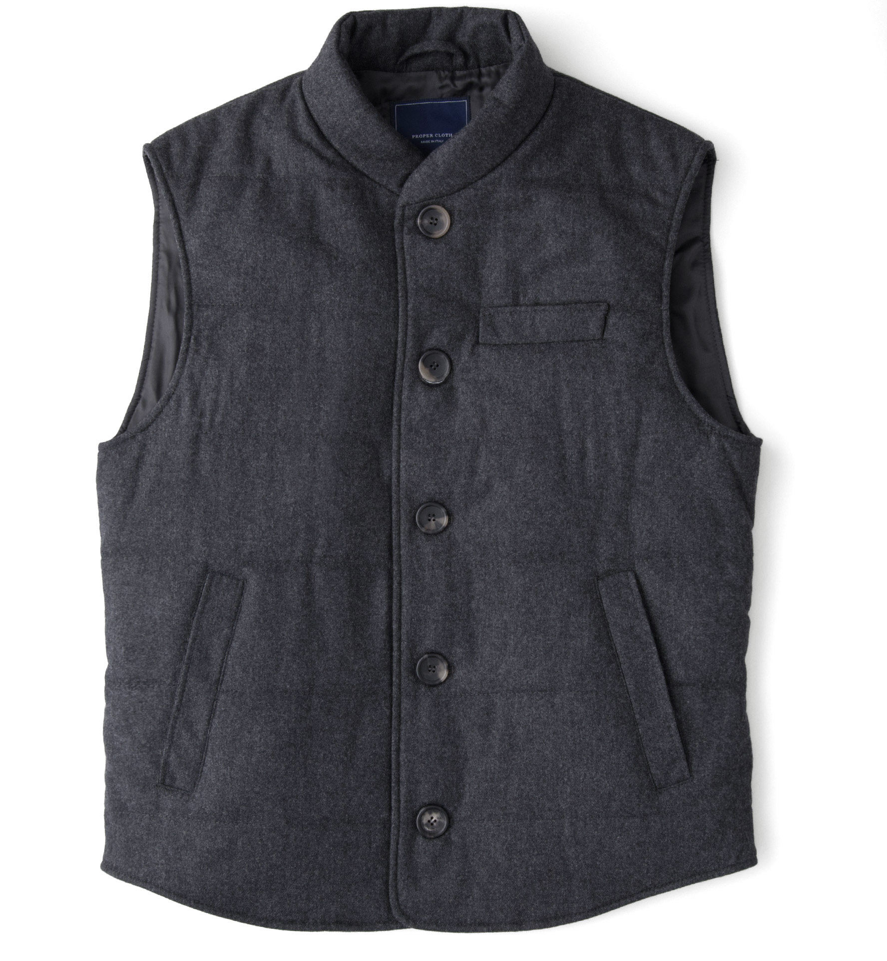 Zoom Image of Charcoal Cortina Vest