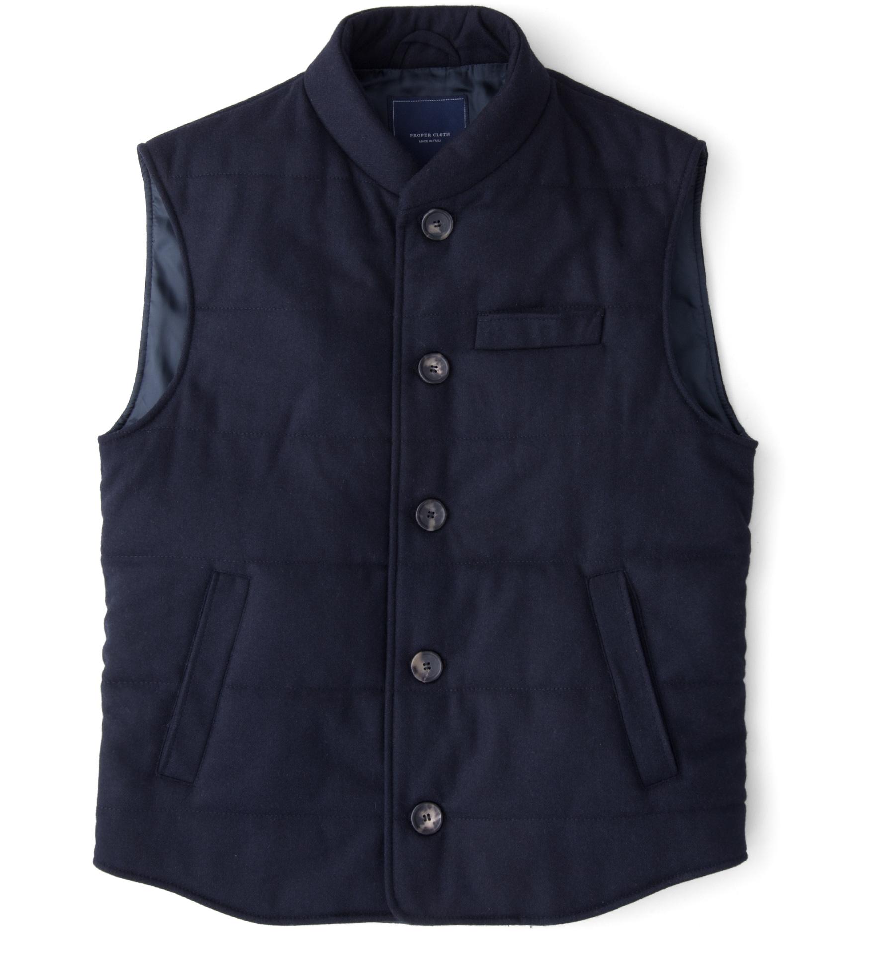 Zoom Image of Navy Cortina Vest