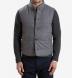 Light Grey Wool Cortina Vest Product Thumbnail 5