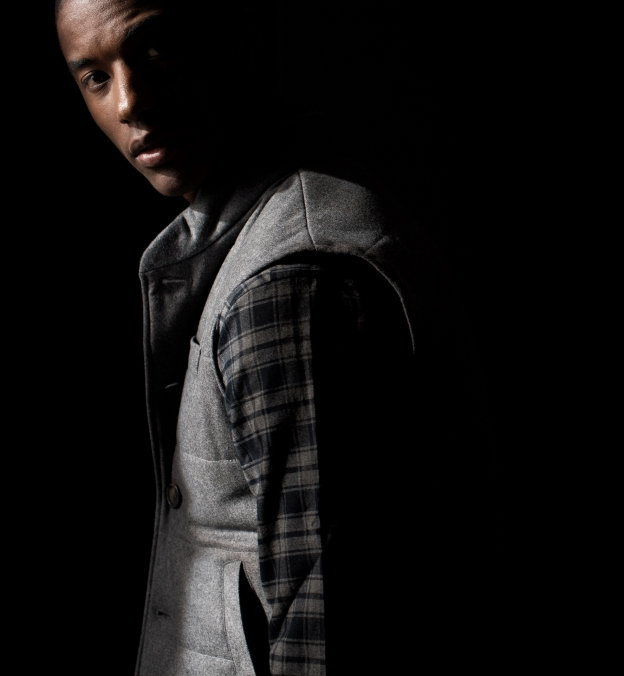 Light Grey Wool Cortina Vest