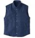 Solbiati Ocean Wool Cashmere Snap Cortina Vest Product Thumbnail 1