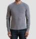 Light Grey Cobble Stitch Cashmere Crewneck Sweater Product Thumbnail 5