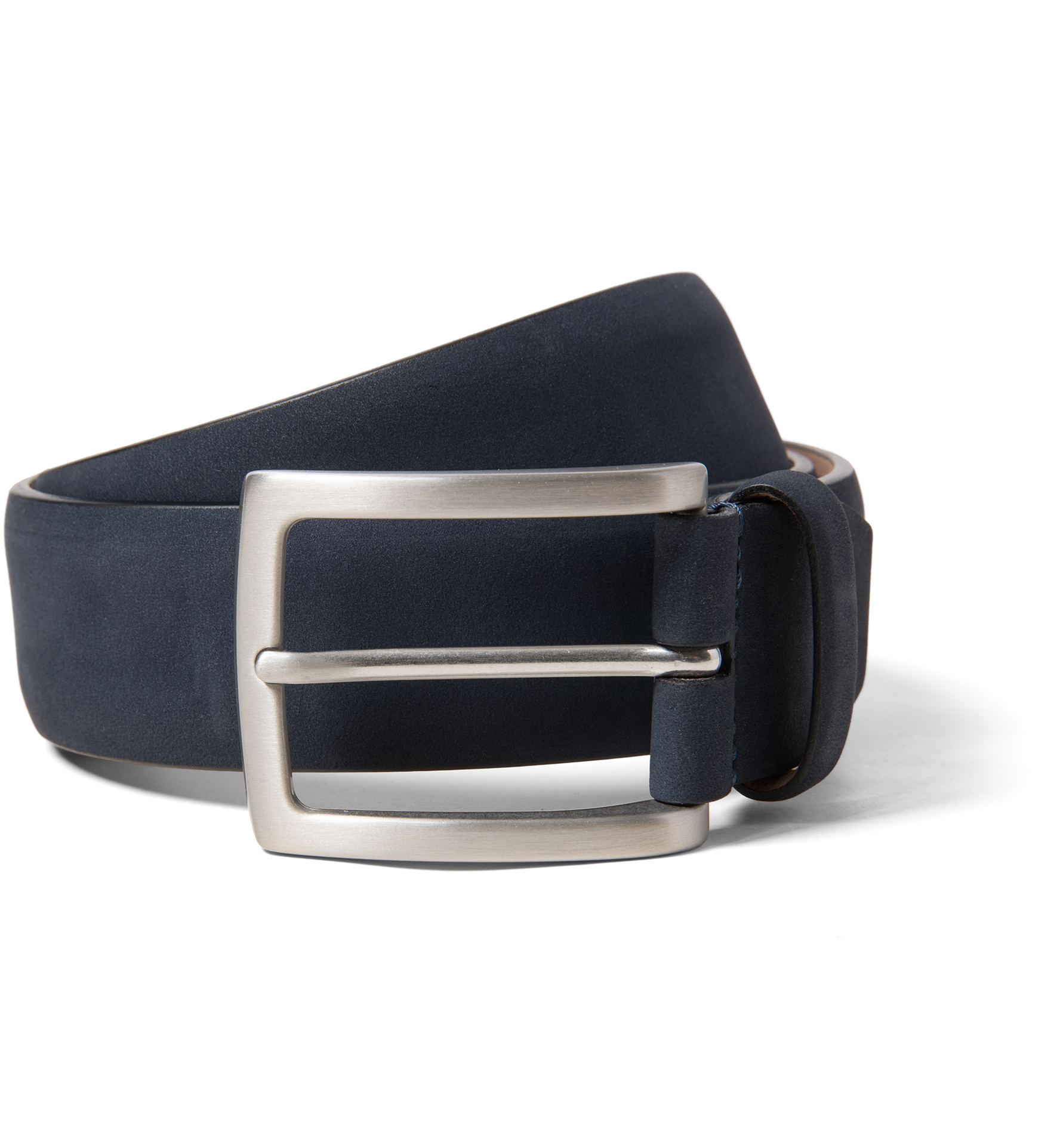 Zoom Image of Navy Nubuck Belt