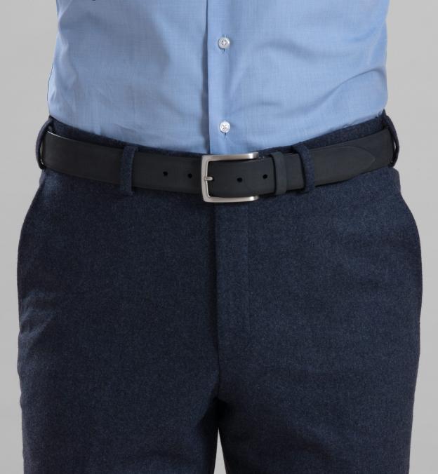 Charcoal Nubuck Belt