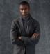 Grey Cobble Stitch Cashmere Turtleneck Sweater Product Thumbnail 5