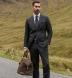 Italian Brown Nubuck Duffle Bag Product Thumbnail 7