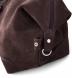 Italian Brown Nubuck Duffle Bag Product Thumbnail 4