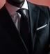 Zoom Thumb Image 4 of Black Silk Grenadine Tie