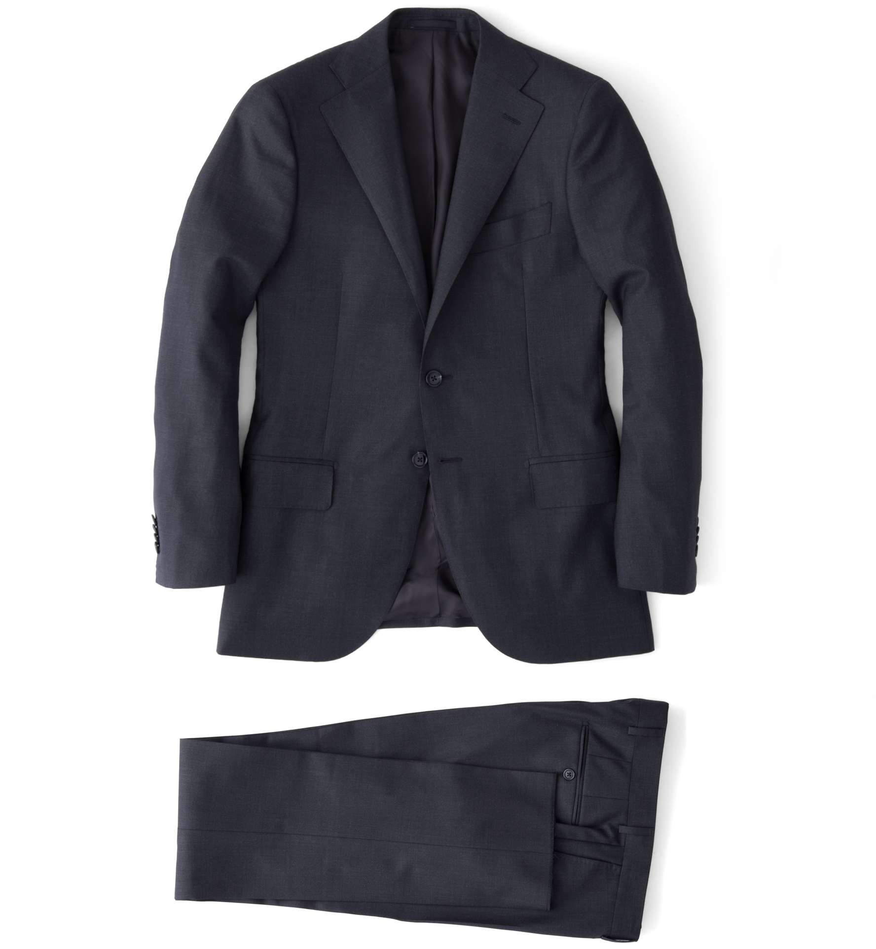 Zoom Image of Mercer Charcoal S150s Suit