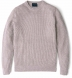 Amalfi Beige Cotton and Linen Sweater Product Thumbnail 1