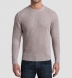 Amalfi Beige Cotton and Linen Sweater Product Thumbnail 5