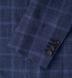 Hudson Navy Windowpane Summer Twill Jacket Product Thumbnail 3