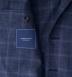Hudson Navy Windowpane Summer Twill Jacket Product Thumbnail 4