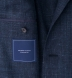 Zoom Thumb Image 3 of Hudson Navy Slub Weave Jacket